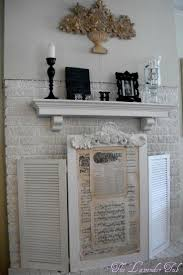 last weeks sunday showcase features giveaway winners fireplace coverdiy