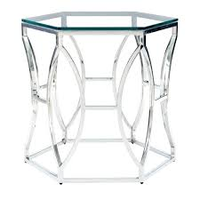 chrome accent table brilliant metal and glass end tables pertaining to chrome accent table inside chrome and glass end table chrome metal accent table
