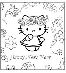 Small Picture hello kitty happy new year coloring pages hello kitty happy new