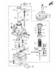 1976 kawasaki ke100 carburetor problems single cylinder graphic