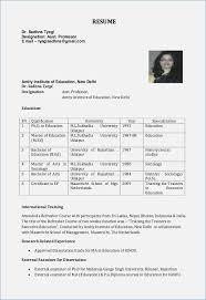 Professor Resume Gorgeous Assistant Professor Resume Fancy Format For In Engineering College