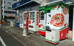 Vending Machine Pizza New Japan's First Pizza Vending Machine Provides Almost Instant Hot