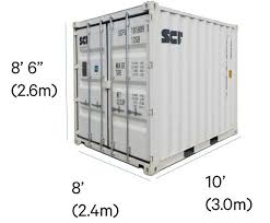 Mini Shipping Containers Compact and Secure Home, Office, Factory Storage