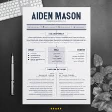 Samples • templates • get a free cv. 2 Page Resume Template Free Resumes Templates Pixelify Net