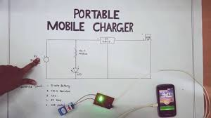 portable mobile charger circuit diagram