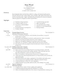 Maintenance Technician Resume Stunning Maintenance Tech Resume Mechanic Maintenance Technician Job Resume