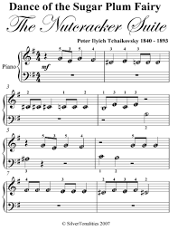 dance of the sugar plum fairy sheet music dance of the sugar plum fairy nutcracker suite beginner piano sheet