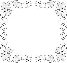 春 イラスト かわいい 花 素材画像 春 イラスト かわいい 花桜 背景