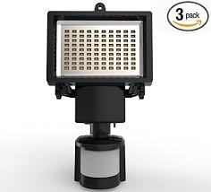 Solar Powered Outdoor Security Light W Motion Sensor  8 LEDs Solar Powered Outdoor Security Light Motion Detection