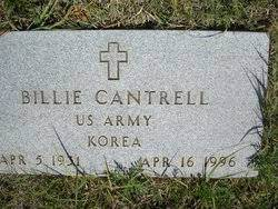 Billie Cantrell (1931-1996) - Find A Grave Memorial