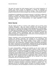 executive summary information technology it based educational page 3