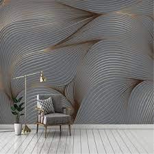 3D Wallpaper Modern Art Mural Retro ...