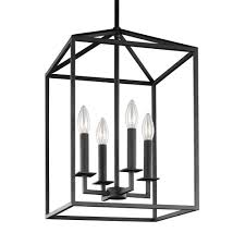 interior lantern lighting. Fine Lighting Sea Gull Lighting Perryton 155 In W 4Light Blacksmith HallFoyer To Interior Lantern