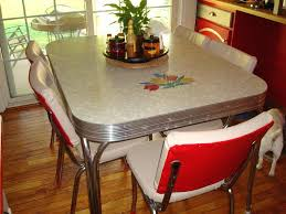 red diner table retro living room squared retro kitchen dining table design with red and white leather chairs red breakfast table set