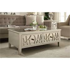 mirrored coffee table. Gallo Mirrored Coffee Table