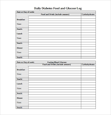 Sample Food Journal Template Food Journal Templates Sample Resume Service