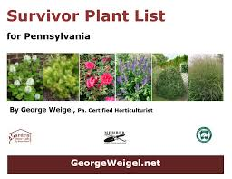 all plants are not created equal species and their exact varieties can make a big difference this packet is 18 detailed pages of plants george suggests as