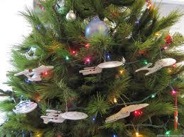 Toy Pix: Star Trek Christmas Tree Display, 2013