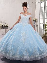 Light Blue Quince Dress Alta Couture Collection Mq3001 Marys Quinceanera Light