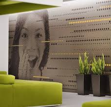 office wall murals. Happy Wall Mural In Office Murals R