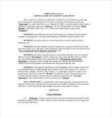 template for llc operating agreement 11 operating agreement templates free sample example format