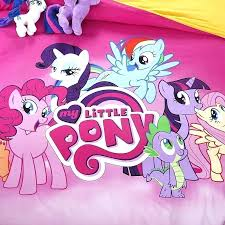 my little pony twin bedding little pony bedding set free pure cotton twin queen full