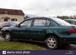 For Sale Sign On Car For Sale Sign In Car Window Pennsylvania Usa Stock Photo 74278804