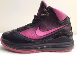 lebron youth basketball shoes. nike air lebron 7 vii pink fire 375793-600 youth basketball shoes size 4y lebron