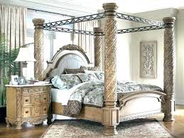 Wrought Iron Bedroom Sets Iron Canopy Bed King Cast Iron Canopy Bed ...