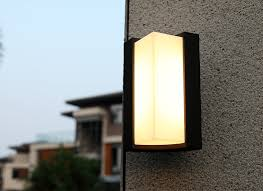 modern exterior sconce lamp for house awesome double sided light intended for modern outdoor wall lighting plan