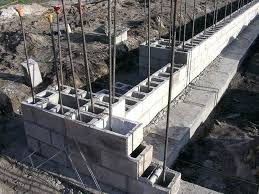 building a cinder block retaining wall best retaining wall images on concrete with how to build building a cinder block retaining wall