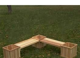 cedar bench planter plans pdf woodworking