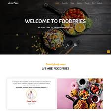 Restaurant Website Templates Magnificent Responsive Restaurant Website Design Templates ThemeVault