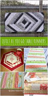 24+ Table Runner Patterns & More Table Runner Patterns— but these use the quilt as you go technique! Adamdwight.com