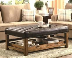 soft leather coffee table top ideas about ottoman tables on tufted x soft coffee table