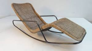 a very rare piece of dutch design is this stunning looking rocking chaise longues by dutch