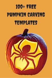 Advanced Pumpkin Carving Patterns Beauteous MOMMY BLOG EXPERT 48 Free Halloween Pumpkin Carving Template
