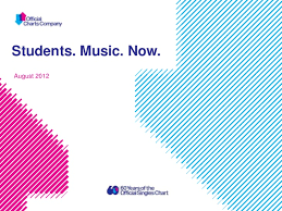 Charts August 2012 Youth Music Trends