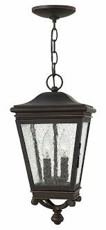 hinkley 2462oz lincoln oil rubbed bronze exterior pendant hanging light loading zoom