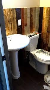 Pallet Wall Bathroom Pallet Wall Bathroom Bathroom Design Ideas Pallet Wall Bathroom