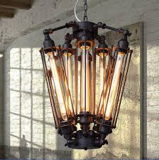 free shipping 8heads old industrial type pendant lights 8e27 bulbs cord black antique pendant antique white pendant lighting