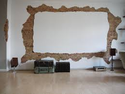 projector wall paintFramed Wall Projector Screen  Everything Goes Here  Pinterest