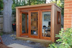 home office in garden. Square Garden Home Office In