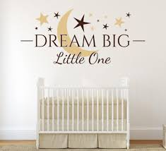 dream big little one wall art sticker on dream big little one wall art with dream big little one wall art sticker smarty walls