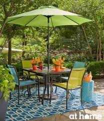 lime green patio furniture. these shades of teal lime green and orange in this patio furniture i