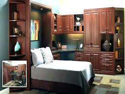 luxury bed desk combo pull down with staining murphy beds uk