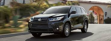 2018 Toyota Highlander available engine options and performance specs
