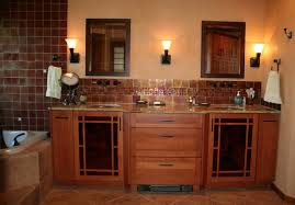 arts and crafts bathroom vanities impressive mission style cabinets craftsman vanity home interior design 10