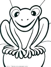 Printable Frog Pictures Free Printable Frog Color Pages Coloring