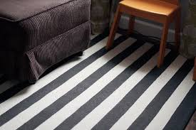 dwell studio dr ink striped rug